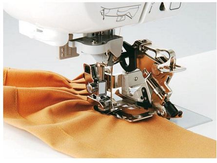 Brother Ruffler Foot Horizontal Stunning Ruffler For Brother Sewing Machine