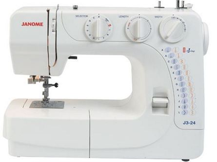 Picture of Janome J3 24 Sewing Machine
