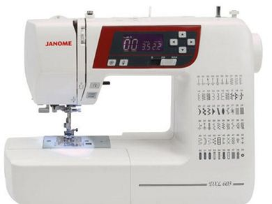 Picture of Janome DXL603 Sewing Machine Save £50 free Quilt Kit