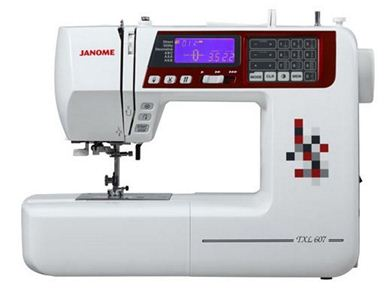 Picture of Janome TXL607 Sewing Machine Free Quilt Kit