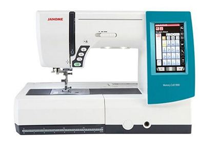 Picture of Janome Memory Craft 9900 Sewing and Embroidery Machine