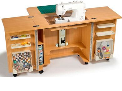 Picture of Horn Gemini Sewing Cabinet Free Horn A1 Cutting Mat