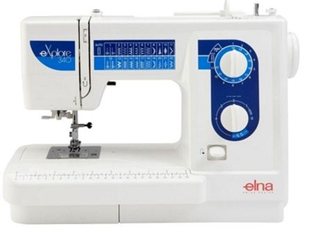 Picture of Elna Explore 340EX Sewing Machine