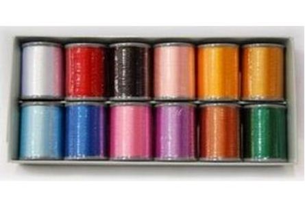 Brother Embroidery Thread Set 12 Colours