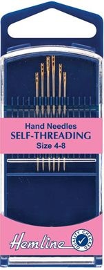 Picture of Hemline Hand Self-Threading Needles
