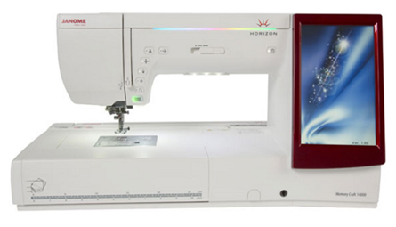 Picture of Janome Memory Craft 14000 Sewing & Embroidery Machine