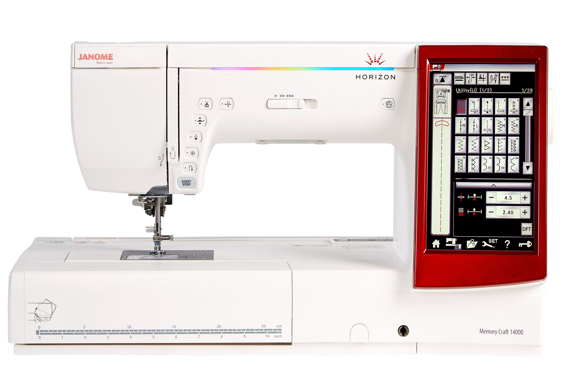sewing blows sew computerized janome quilt vac n quilting machine
