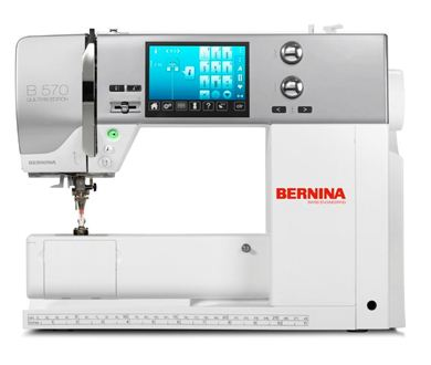 Picture of Bernina 570QE Quilter's Edition Free Walking Foot