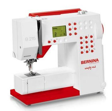 Picture of Bernina Activa 215 Simply Red