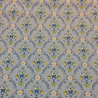 Picture of Modern Print Fabric Blue - 2845 - 55