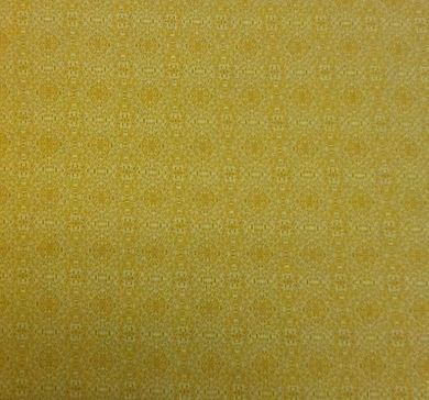 Picture of Yellow Print Fabric -7484