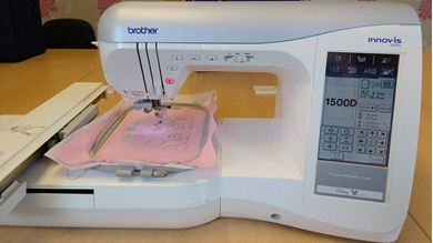 Picture of Brother Innov-is 1500D Sewing and Embroidery Machine *SOLD*