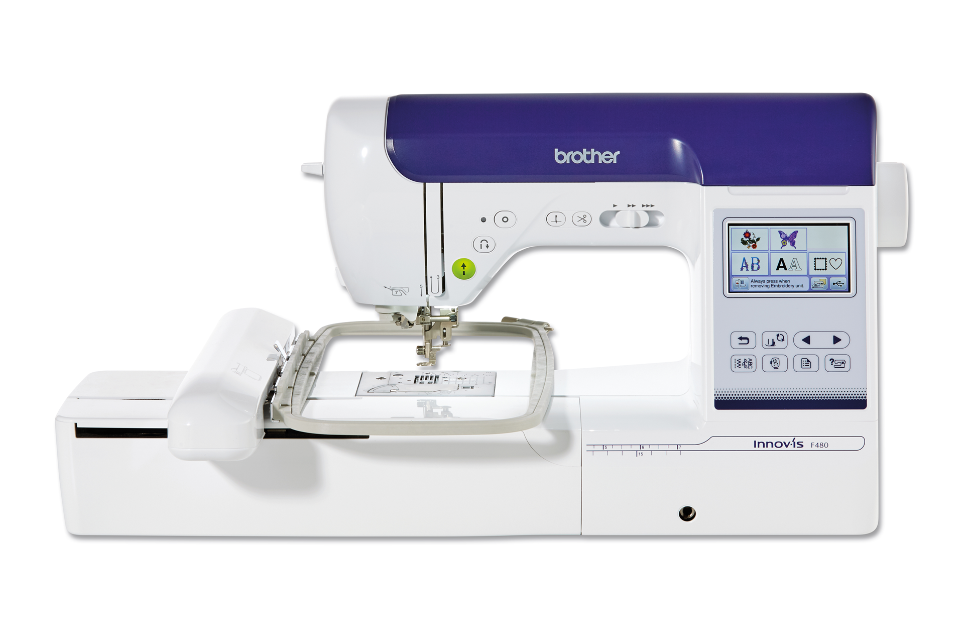industrial sewing and embroidery machine