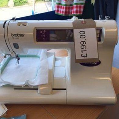embroidery machine pe 180d