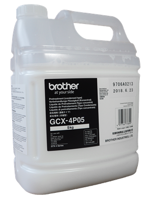 Picture of Brother GTX-4P05 Pre-Treatment Concentrate 4 Litre (5KG)