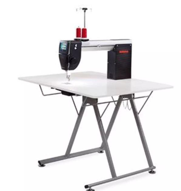 Bernina Q20 Longarm Quilting Machine Foldable Table