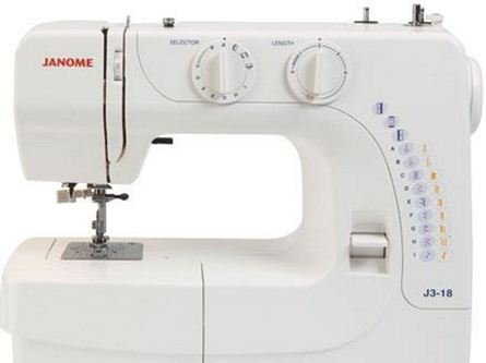 Picture of Janome J3 18 Sewing Machine