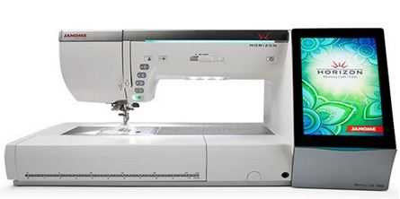 Picture of Janome Memory Craft 15000 Quilt Maker Sewing and Embroidery Machine