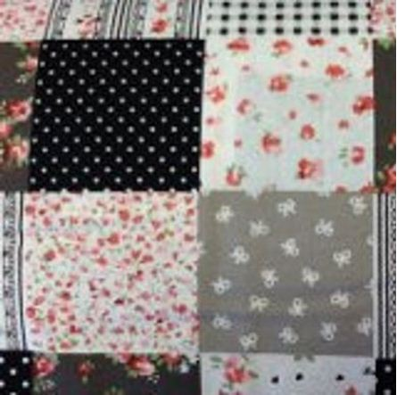 Picture of Patchwork Floral Fabric 00100  150cm Wide