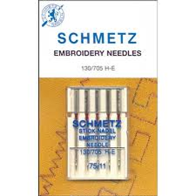 Picture of SCHMETZ Embroidery Needles Size 75/11