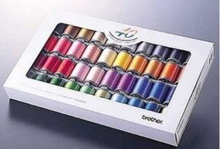 Picture of Brother Embroidery Thread Set 40 Colours