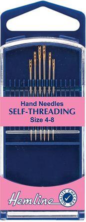 Picture of Hemline Hand Self-Threading Needles