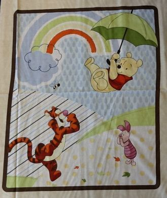 Picture of Winnie The Pooh Character Rainbow Panel - 40163