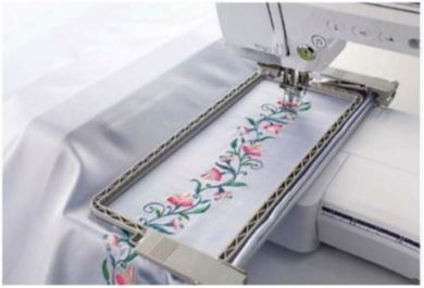 Picture of Brother / Brother Embroidery Border Frame 300 x 100mm  BF3