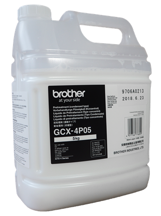 Picture of Brother GTX-4P05 Pre Treatment Concentrate 4 Litre (5KG)