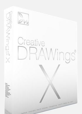 Picture of Creative Drawings X Embroidery Software for MAC