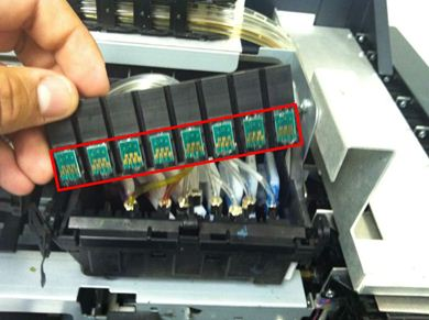 Picture of Ink Chip Module /FP125