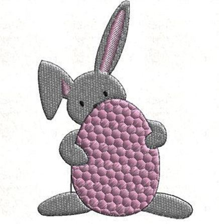 Picture of Bunny Free Embroidery Pattern