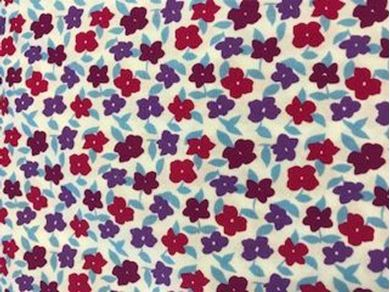 Picture of  Floral Fabric 8322-6