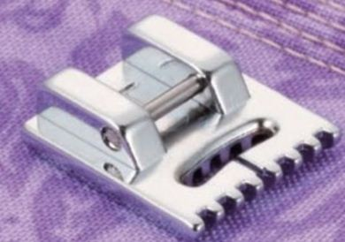 Picture of Brother Pin Tuck Foot 7 Grooves (CAT A)