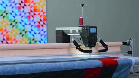 Picture of  Bernina Q24 Longarm Quilting Machine Classic Frame 12 foot
