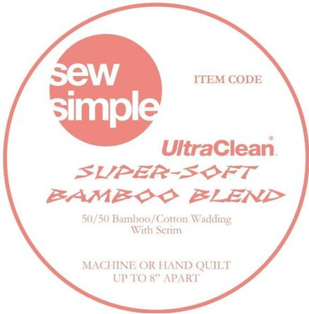 Picture of  Sew Simple Ultra Clean Super Soft Bamboo Blend