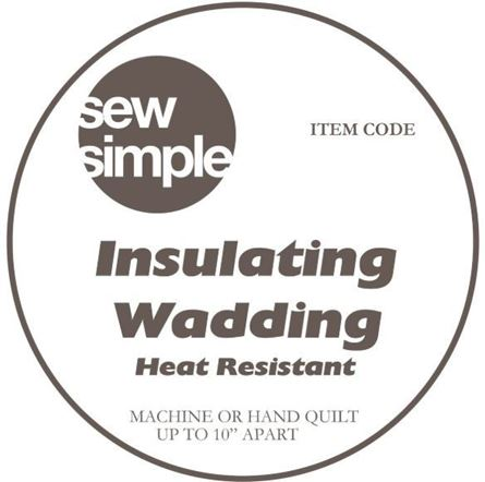 Picture of Sew Simple Insulating Wadding - Heat Resistant