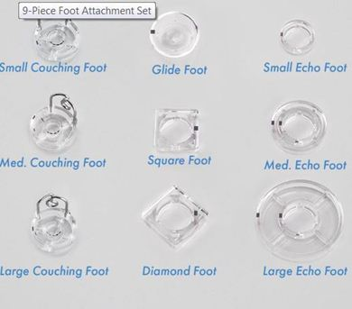 Picture of 9 Piece Foot Attachment Set