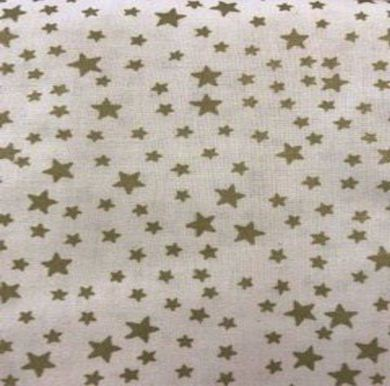 Picture of Gold Star Fabric 150cm Wide