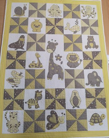 Picture of  Baby Quilt - Zoo Themed Trease Lane * Cardiff *