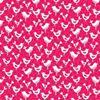 Picture of Fantasy Birds Pink Makower UK #1820 P