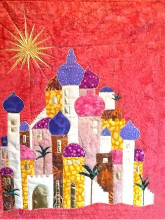 Picture of Oh Little Town of Bethlehem Quilt Course with Trease Lane *Cardiff*