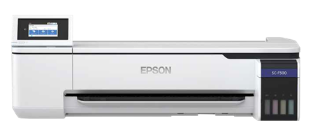 Picture of Epson SC-F500 dye sublimation printer