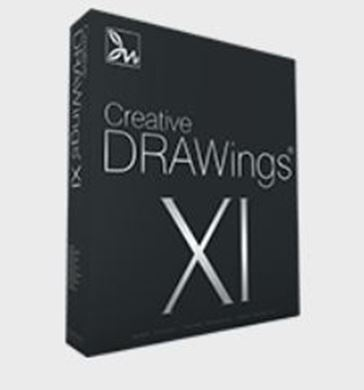 Picture of Creative DRAWings XI Embroidery Software
