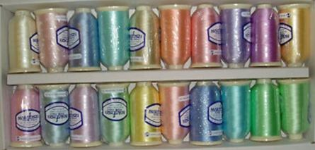 Picture of  Marathon Pastel Embroidery threads