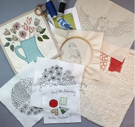 Picture of Introduction To Free Motion Embroidery*CDF*23-04-20