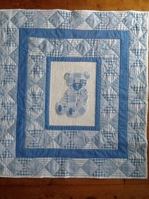 Picture of Baby Quilt with Trease Lane - Newport