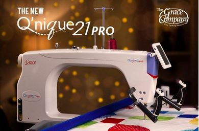 Picture of Q'nique 21Pro Quilter Machine