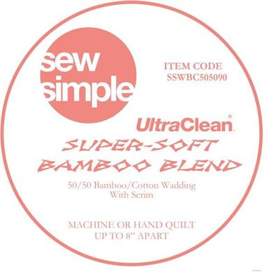 Picture of Sew Simple Super Soft Bamboo Blend Wadding 15metre bolt