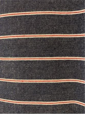 Picture of Striped  Blue Denim D5555
